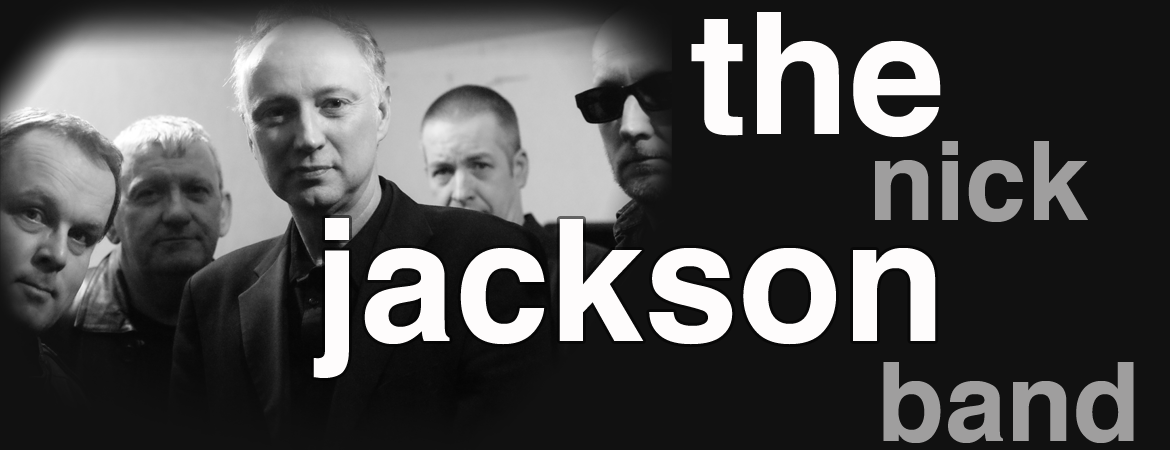 the nick jackson band banner